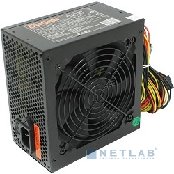 Exegate EX219461RUS Блок питания 450W ATX-XP450 OEM, black, 12cm fan, 24+4pin, (6+2)pin PCI-E, 3*SATA, 1*FDD, 2*IDE