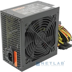 Exegate EX219463RUS / 251775 Блок питания 500W ATX-XP500 OEM, black, 12cm fan, 24+4pin, (6+2)pin PCI-E, 3*SATA, 1*FDD, 2*IDE