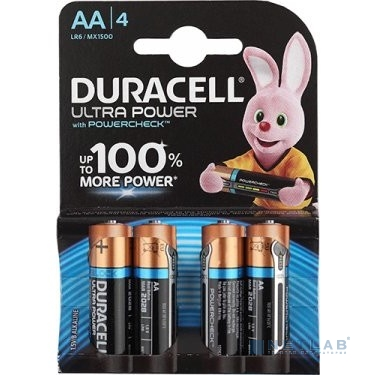 DURACELL LR6-4BL Ultra Power (4 шт. в уп-ке)
