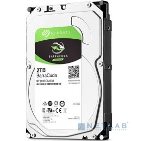 2TB Seagate Barracuda (ST2000DM008) {SATA 6 Гбит/с, 7200 rpm, 256mb buffer}
