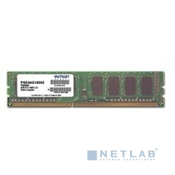 Patriot DDR3 DIMM 4GB (PC3-12800) 1600MHz PSD34G160081