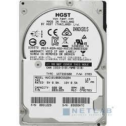 600Gb Hitachi Ultrastar C10K1800 (HUC101860CSS204) {SAS, 10000 rpm, 128mb, 2.5''} (0B31229)