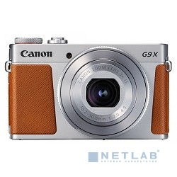 "Canon PowerShot G9 X Mark II серебристый/коричневый {20.9Mpix Zoom3x 3"" 1080p SDXC CMOS IS opt 5minF TouLCD 6fr/s RAW 60fr/s HDMI/WiFi/NB-13L}"