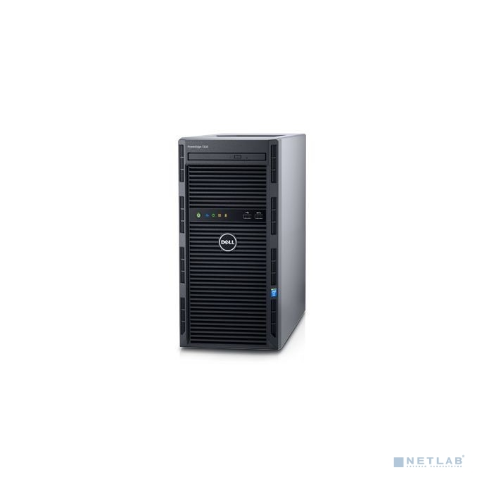 Сервер Dell PowerEdge T130 E3-1220v6 16GB PERC H330 2x1TB LFF UpTo4LFF cabled HDD/ DVDRW/ iDRAC8 Exp+Port/ 2xGE/ 1x290W cabled PSU/ 3YBWNBD [T130-AFFS-02T]