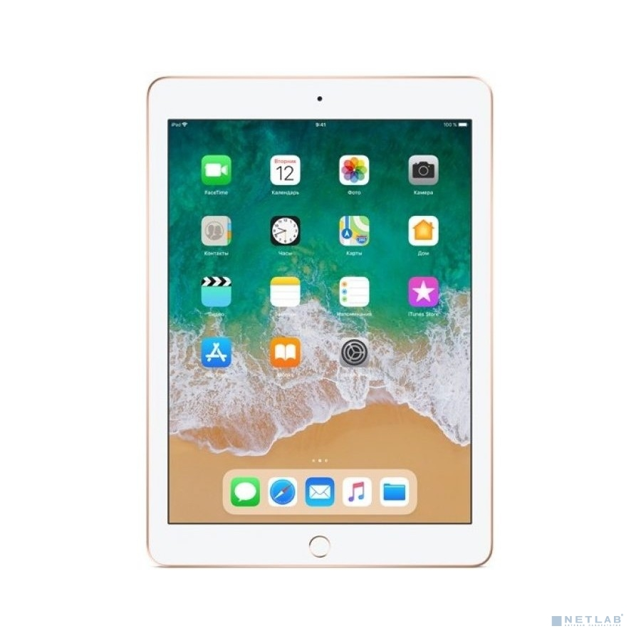 Apple iPad Wi-Fi 128GB - Gold [MRJP2RU/A] (2018)
