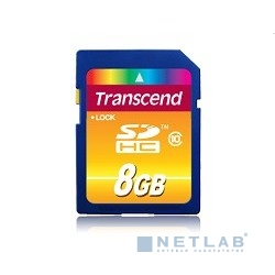 SecureDigital 8Gb Transcend TS8GSDHC10 {SDHC Class 10}