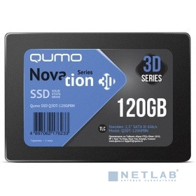 QUMO SSD 120GB QM Novation Q3DT-120GPBN {SATA3.0}