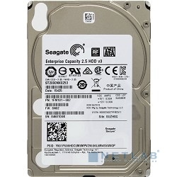"2TB Seagate Enterprise Capacity 2.5 HDD (ST2000NX0253) {SATA 6Gb/s, 7200 rpm, 128 mb, 2.5""}"