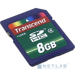 SecureDigital 8Gb Transcend TS8GSDHC4 {SDHC Class4}