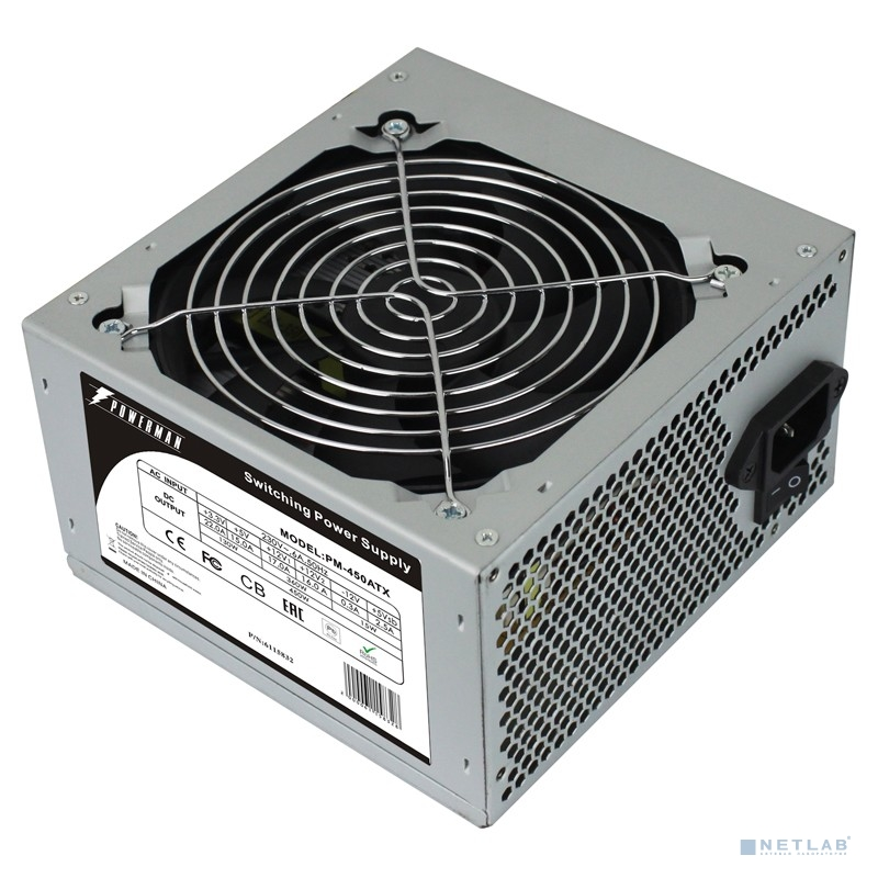 POWERMAN  PM-450ATX for P4 450W OEM ATX [6115832]