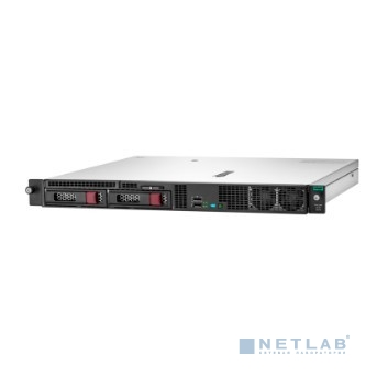 Сервер HPE ProLiant DL20 Gen10, 1x Intel Xeon E-2124 4C 3.3GHz, 1x8GB-U DDR4, S100i/ZM (RAID 0,1,5,10) noHDD (2 LFF 3.5'' NHP) 1x290W NHP NonRPS (up2x500), 2x1Gb/s, noDVD, ClearOS, Rack1U (P08335-B21)