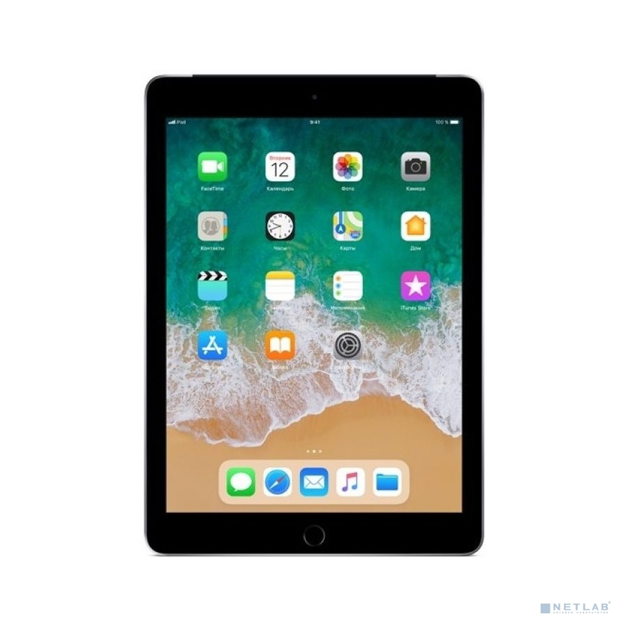 Apple iPad Wi-Fi + Cellular 128GB - Space Grey (MR722RU/A) (2018)