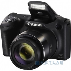 "Canon PowerShot SX430 IS черный {20.5Mpix Zoom45x 3"" 720p SDXC/SD/SDHC CCD 1x2.3 IS opt 0.5fr/s 25fr/s/WiFi/NB-11LH}"
