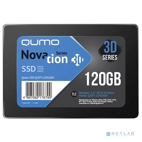 QUMO SSD 120GB QM Novation Q3DT-120GAEN OEM {SATA3.0}