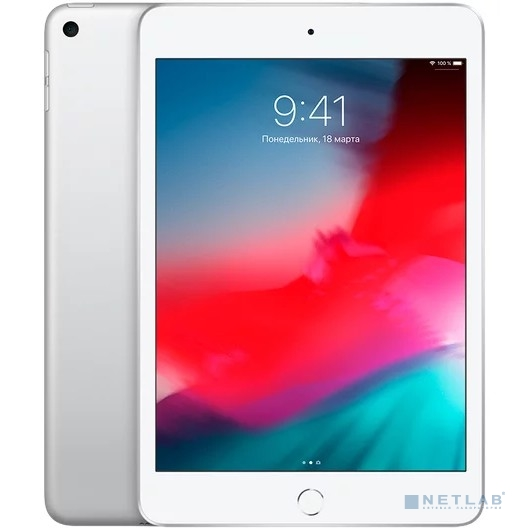 Apple iPad mini Wi-Fi + Cellular 64GB - Silver (MUX62RU/A) New (2019)
