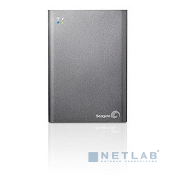 "Seagate Portable HDD 1Tb Wireless Plus STCK1000200 {USB 3.0, 2.5"", WiFi, black}"